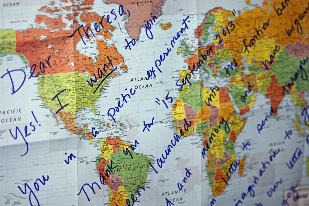 Message Map, from Alexa Mergen, Sacramento, CA